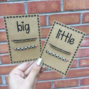 Set of Big and Little Friendship Bracelets| KAO